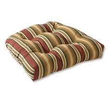 Sunbrella Tufted Round Chair Cushions Orvis