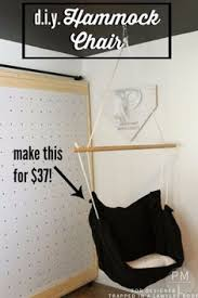 diy seating ideas diy hammock chair creative indoor furniture chairs and easy seat