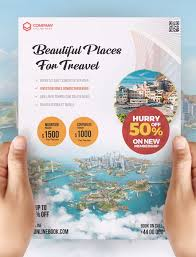 Travel Tour And Vacation Flyer Psd Template Download
