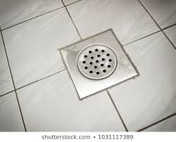 Drain On The Floor Of A Bathroom Or Kitchen