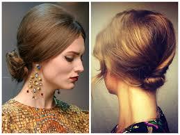 beehive bun hairstyle 1960s bun