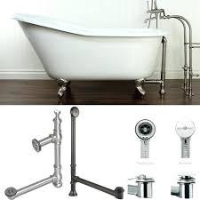 bath tub drain tub drain bath tub drain trip lever