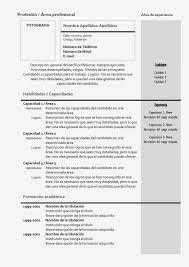 Ejemplos De Un Resume Para Trabajo Formato Watchesline Resume
