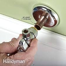 replace water supply valve bathroom sink water shut off valve