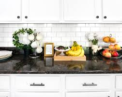 How To Install Kitchen Tile Backsplash Mesmerizing How To Install A Subway Tile Backsplash FREE Subway Tile Template