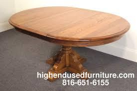 Pennsylvania House Dining Room Table Pennsylvania House Stone House Oak 46034 Pedestal Dining Table