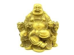 feng shui laughing buddha and symbol bringing feng shui office