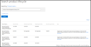 Search Product Lifecycle