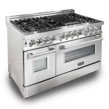 gas kitchen stove. Fine Gas ZLINE Kitchen And Bath 48 In Stainless Steel 60 Cu Ft 7 To Gas Stove