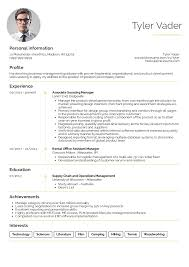 Resume Outlines Examples Resume Examples By Real People Business Management Graduate Cv