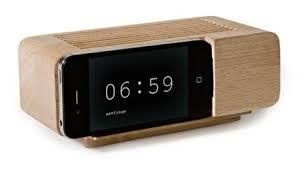 areaware iphone alarm clock image
