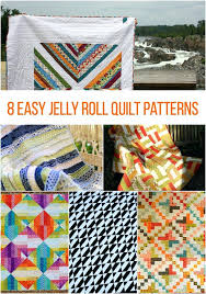 Jelly Rolls Quilts – co-nnect.me & ... Jelly Roll Quilts Pattern Book Jelly Roll Sampler Quilts Book Easy Jelly  Roll Quilt Patterns For ... Adamdwight.com