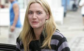 kate winslet without makeup