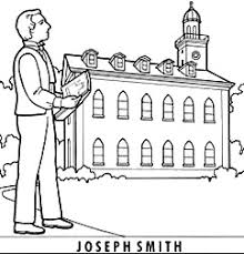 Small Picture LDS Joseph Smith Coloring Page Coloring Book