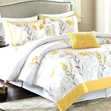 yellow fl comforter most top notch grey and white duvet cover throughout croscill