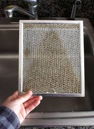 Exhaust Hood Filter How To Clean A Greasy Range Hood Filter Cleaning Lessons From