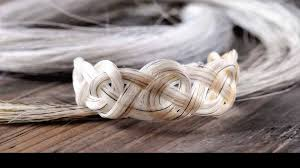 spirithorse designs horse hair jewelry art