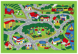 children s play mat city map design area rug 39 x 58 baby 1 of 2free