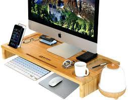 tv monitor riser amazing amazing computer monitor riser inch 2 tier shelves monitor stand desktop monitor