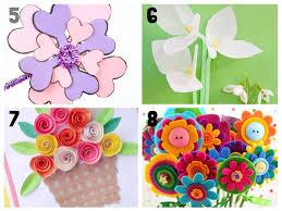 Paper Flower Crafts For Kindergarten 20 Pretty Flower Crafts For Kids Kids Craft Room