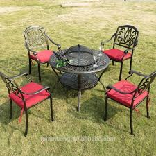 garden bench Cast Iron Patio Furniture Steel Patio Furniture