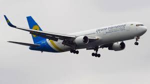 Ukraine International Boeing 767-300ER [UR-GEB] CROSSWIND Landing at New  York JFK! [Full HD]