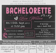 Bachelorette Invitation Template. Perfect Bridal Shower Bachelorette ...