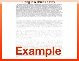 dengue outbreak essay coursework help dengue outbreak essay dengue fever is caused by the dengue virus in 1789 rush