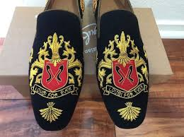 New Men's Christian Louboutin Embroidered Loafers Size 45 'Loubi ...