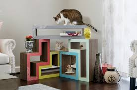 tetris furniture. Katris, Papercut Lab, Tetris Furniture, Cats Furniture A