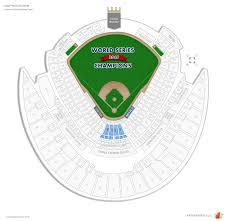 Kauffman Stadium Crown Club Baseball Seating