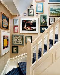 picture frames on staircase wall. Lovable Staircase Wall Ideas 50 Creative Decorating Art Frames Stairs Picture On S