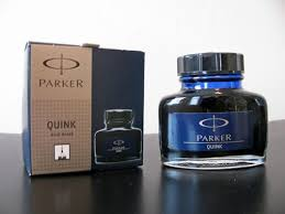 Image result for quink blue black