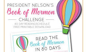 Book Of Mormon Reading Chart Capturing Joy With Kristen Duke