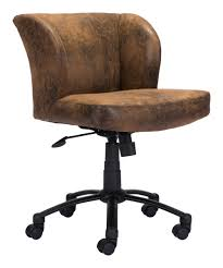 shaw office chair brown