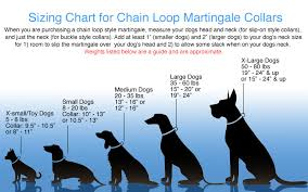 Dog Size Chart Silver Bell Dog Charm