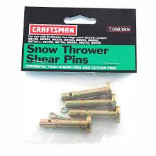 Shear Pins For Craftsman Cub Cadet Ariens Snow Blowers