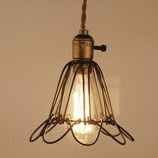 mediterranean lighting. E27 Socket Loft Droplight Retro Pendant Lights Mediterranean Sea Style Lamp 110 220v Classicality Lighting BS-in From