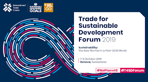 Design And Production For Sustainability Programme Trade For Sustainable Development Forum 2019