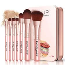 details about high end 7pcs makeup brushes set eye lip face foundation brush kit cosmetic tool