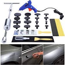 GLISTON Car Dent <b>Puller Kit</b>, Paintless Dent Repair Remover, Pro ...