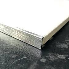 countertop tile edges floor tile trim brushed straight l shape silver tile trim edging ceramic tile countertop tile edges