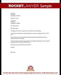 child visitation agreement form child visitation letter with sample