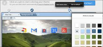 themes create how to easily create your own google chrome theme