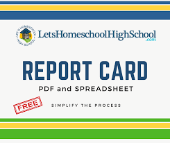 Report Card Template Pdf Download Homeschool High School Report Card Template