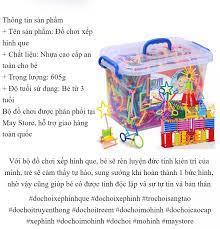 Bộ ghép que sáng tạo cho bé đồ chơi xếp queĐồ chơi lắp ghép hình que đồ chơi  giúp bé phát triển trí tuệ đồ chơi sáng tạo sản phẩm khuyến mãi