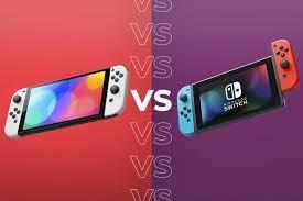Nintendo Switch OLED vs Nintendo Switch ...