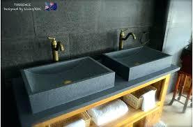 undermount bathroom sink granite installing