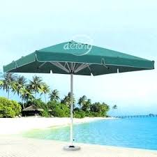 outdoor dark green patio center post square parasol sun umbrella umbrellas costco 4 5