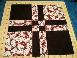 Best 25+ Disappearing four patch ideas on Pinterest | Quilt ... & disappearing+four+patch+quilt+pattern | Hello Kitty Disappearing 4 Patch  Quilt Adamdwight.com